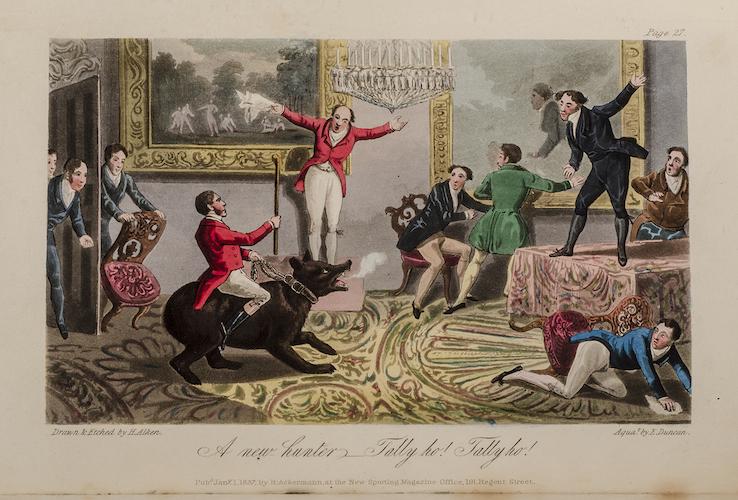 A_new_hunter_-_Tally_ho,_Tally_ho,_by_Henry_Alken_-_Memoirs_of_the_Life_of_the_Late_John_Mytton,_Esq._of_Halston,_Shropshire,_by_Nimrod,_2nd_ed,_London,_1837
